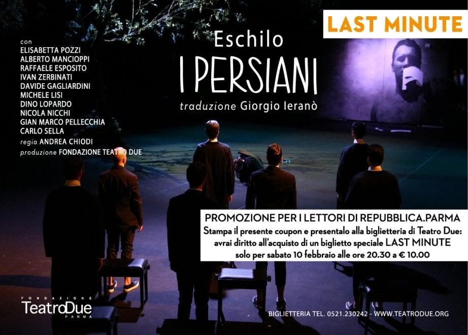 A Teatro Due I Persiani di Eschilo: biglietti last minute per i lettori