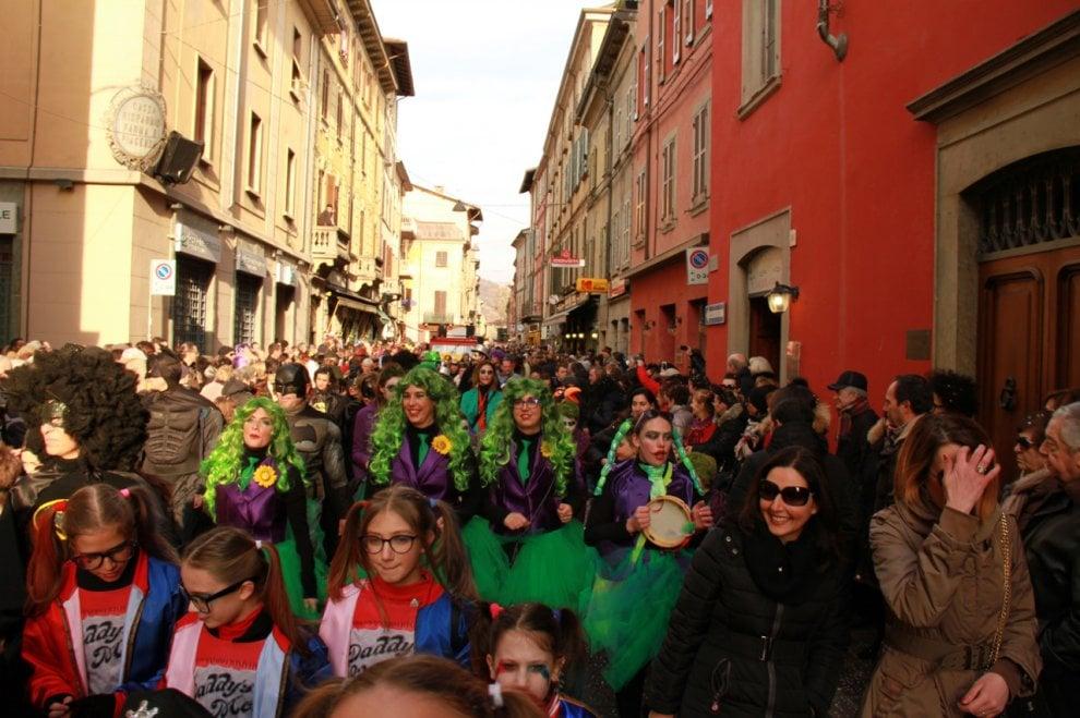 Carnevale a Borgotaro: le foto della festa