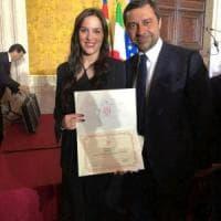Premio Leonardo Italian Quality a studentessa parmigiana