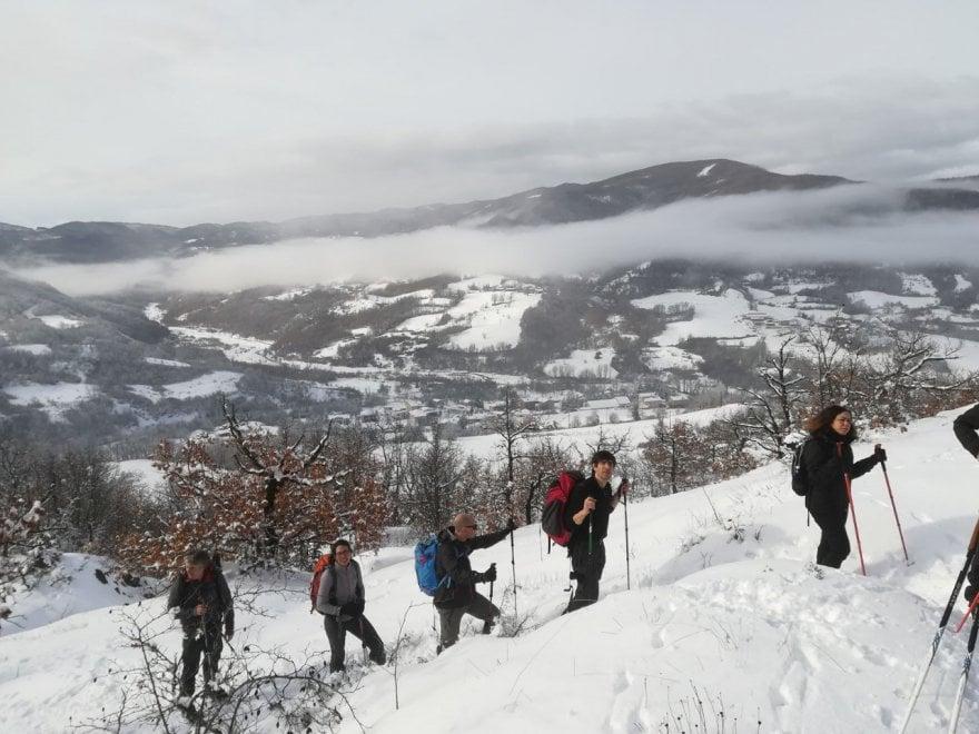 Val Noveglia: le guide nella neve dell'Appennino più segreto - Foto