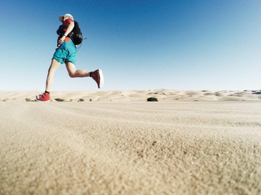 """Il runner Pugolotti in Mauritania: """"La mia impresa fra le dune più belle del mondo"""""""