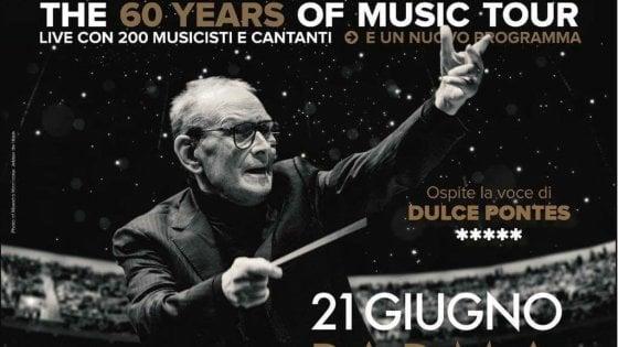 Musica, Ennio Morricone in concerto a Parma