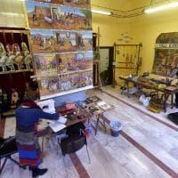 Parma, nella bottega di Cuticchio rivive il teatro dei pupi - Foto