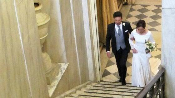 Parma, sposi al Regio: ecco il primo matrimonio