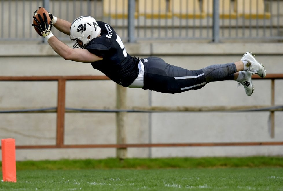Parma, il volo in touchdown della Pantera McMakin