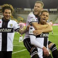 Parma-Palermo: tripletta di Calaiò lancia i crociati