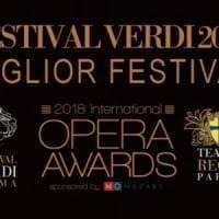 Parma, Festival Verdi premiato a Londra: il migliore al mondo