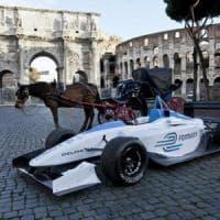 Dallara porta la Formula E a Roma: