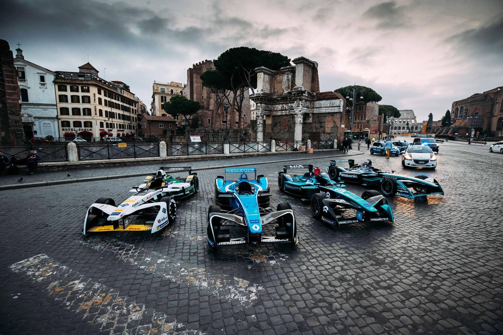 """Dallara porta la Formula E a Roma: """"Una palestra per favorire mobilità elettrica"""""""