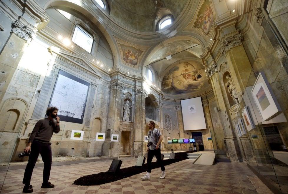 Parma 360, taglio del nastro nella crociera dell'Ospedale Vecchio - Foto