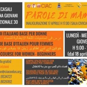 Parole di mamma a Sissa Trecasali: corsi d'italiano per donne immigrate