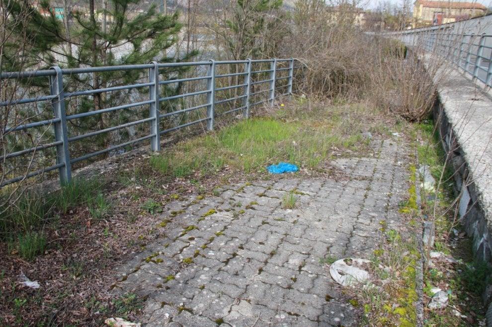 Borgotaro, da pista ciclabile a percorso a ostacoli - Foto
