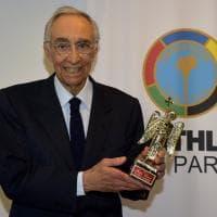 Parma, a Franco Carraro  l'Angiol d'or del Panathlon