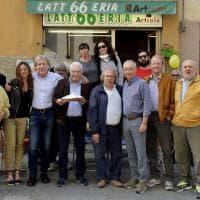 Parma, via Imbriani in festa per gli 80 anni di Arturo Soncini
