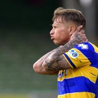 Parma, a Cesena una caduta che fa molto male