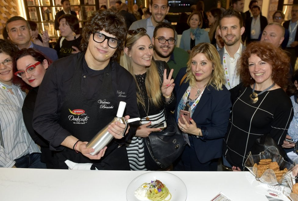 Cibus, lo speciale spaghetto di chef Valerio Braschi - Foto