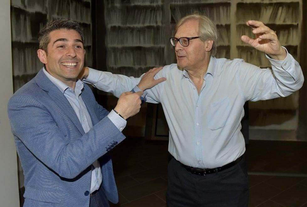 Parma, Sgarbi promuove Il Terzo Giorno