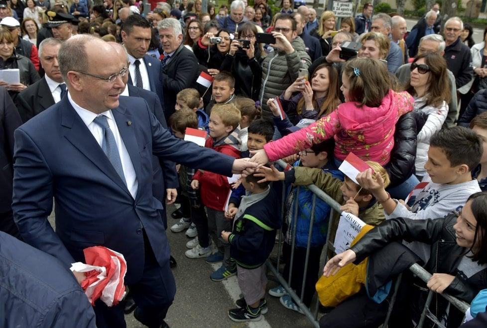 Parma, la visita del principe Alberto alle radici del titolo nobiliare - Foto