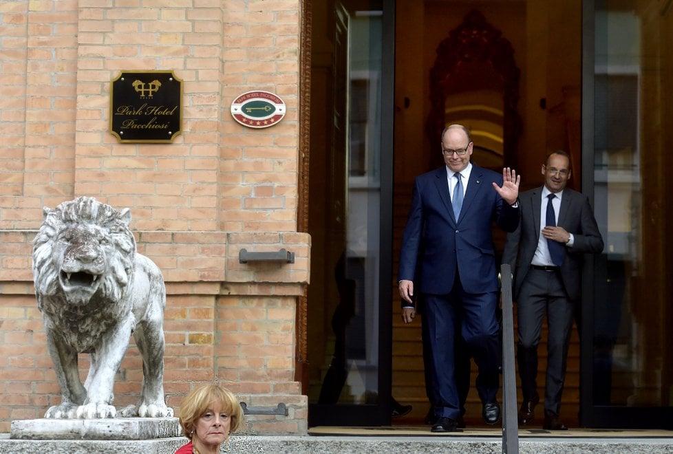Parma, serata parmigiana per il principe Alberto - Foto