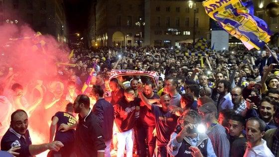 Parma, festa al Tardini con il presidente Lizhang