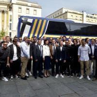 Parma, la festa promozione arriva in municipio - Foto