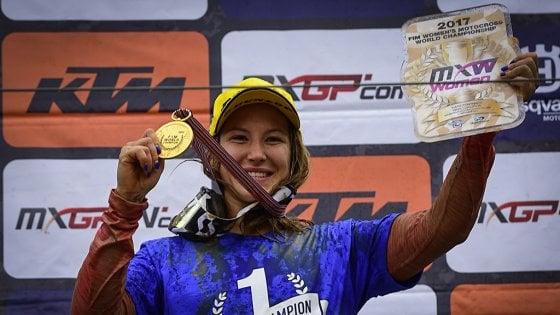 """Kiara, la campionessa che sfida gli uomini: """"Mai porsi dei limiti"""""""