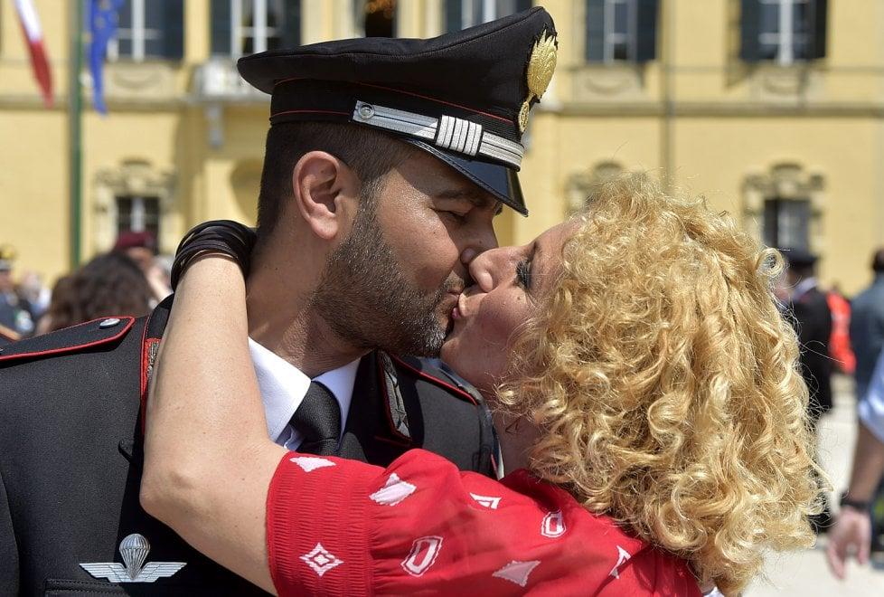 Parma, la festa dell'Arma dei carabinieri nel parco Ducale - Foto