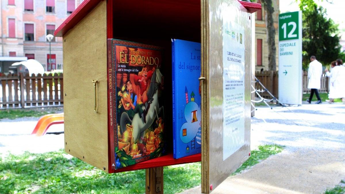 Parma con il bookcrossing i libri abitano il giardino for Il giardino dei libri