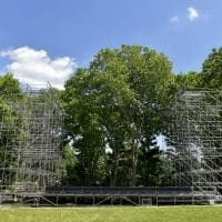 Parma, in Cittadella il grande palco per Morricone e Lauryn Hill - Foto