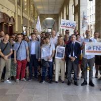 Parma, Fnsi e Aser in piazza per i giornalisti precari