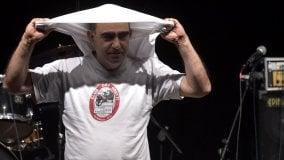 Fontanellato, il tributo di Elio a Frank Zappa - Foto