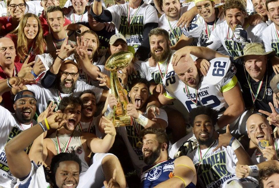 Italian Bowl: trionfo a Parma dei Seamen Milano - Foto