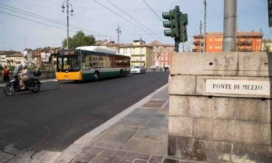 Ponte di Mezzo, nuove infiltrazioni: due mesi di cantieri a Parma