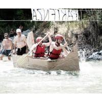 Val Ceno River Race: nel fiume con le canoe di cartone - Foto