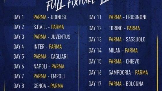 Calendario Serie Aa.Calendario Serie A Si Parte Con Parma Udinese Repubblica It