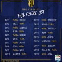 Calendario serie A: si parte con Parma-Udinese