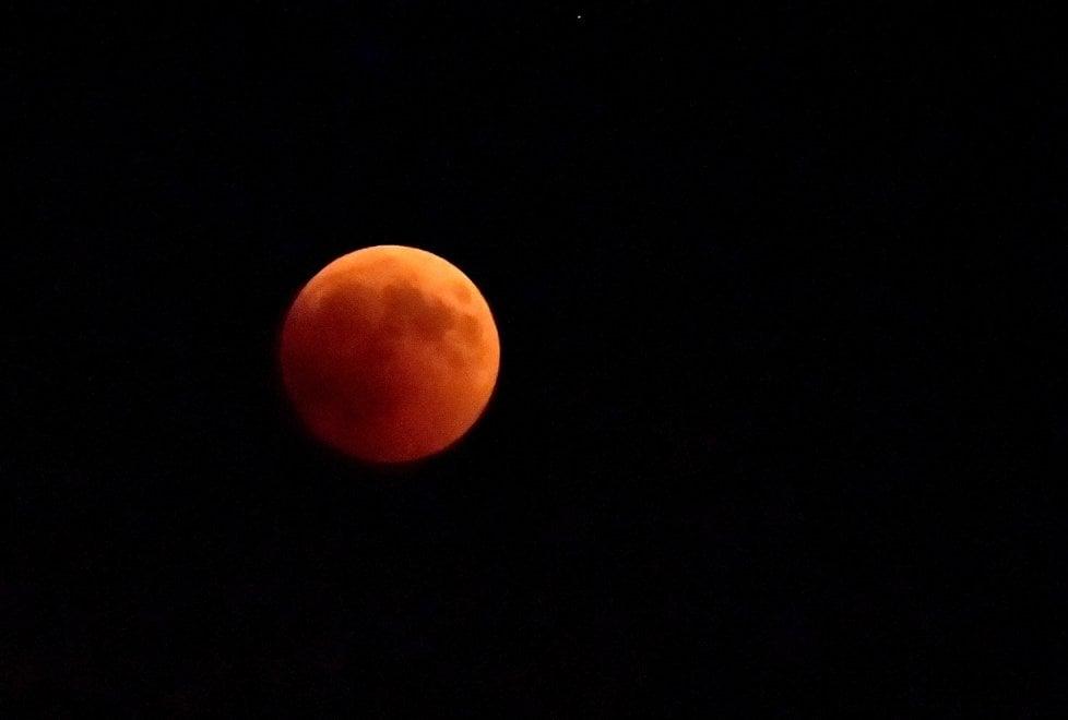 Eclissi, spettacolo storico in cielo: le foto della luna a Parma