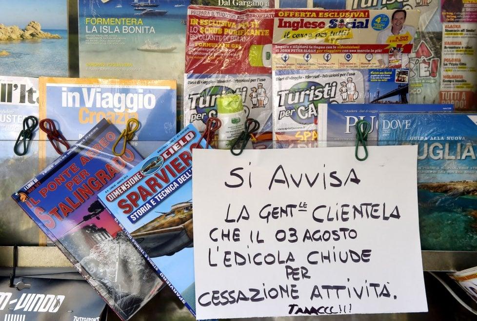Parma, edicola di via Toscana chiude dopo 40 anni