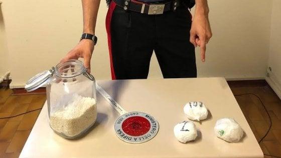 Fidenza, arrestati due pusher con tre etti di cocaina