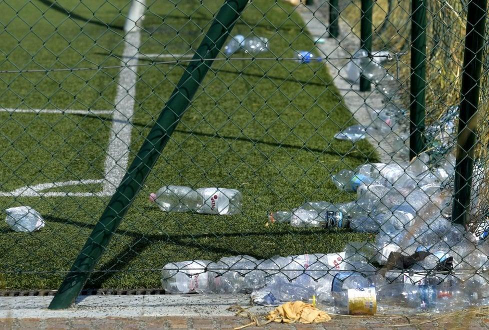Parma, nella zona Efsa l'area sportiva versa nel degrado - Foto