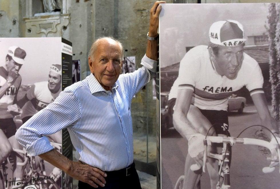 Ciclismo, 50 anni fa l'impresa mondiale di Vittorio Adorni: mostra a Parma - Foto