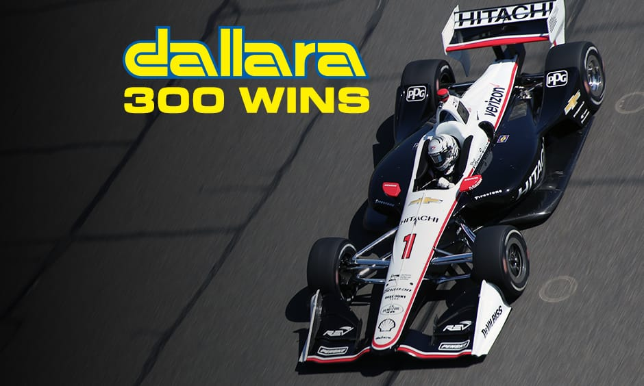 Indycar: la Dallara fa 300 a Portland