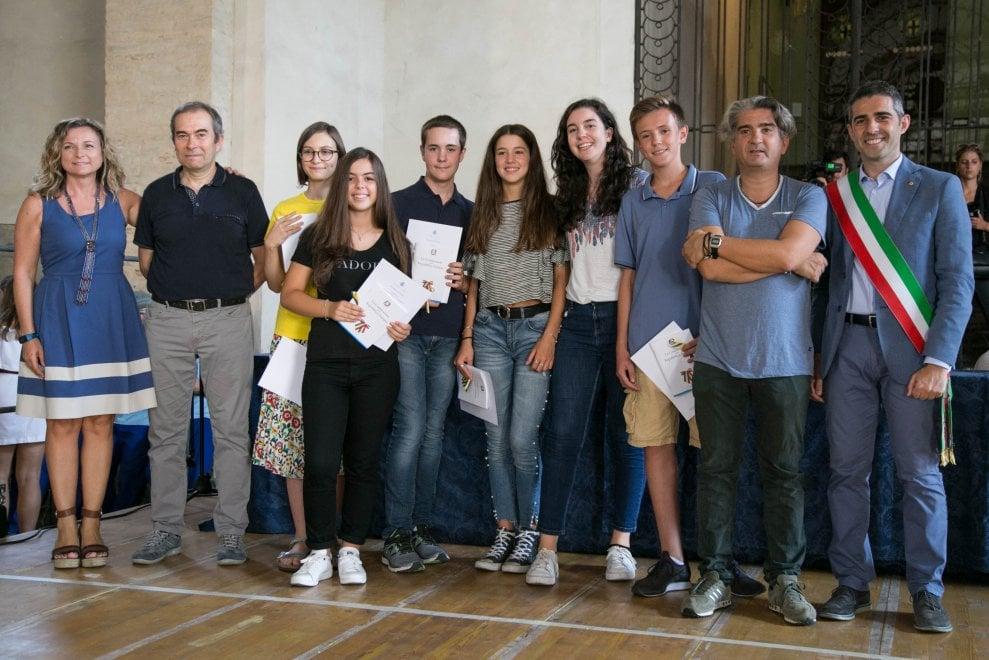Parma, il Comune premia gli alunni più bravi - Foto