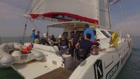 """Lo Spirito di Stella"""", il catamarano  che fa il giro d'Italia con i disabili"""