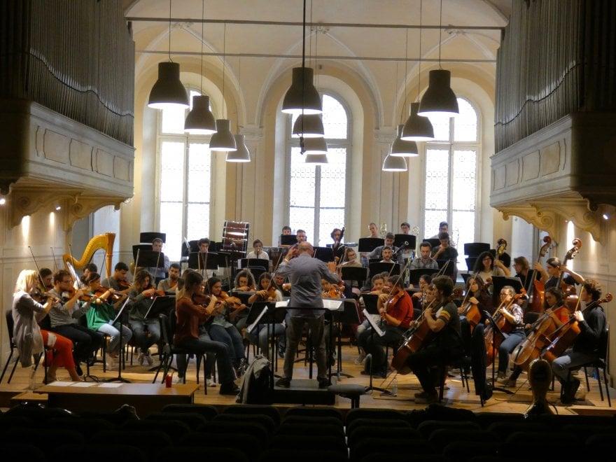 Debutta la nuova orchestra giovanile della via Emilia - Foto