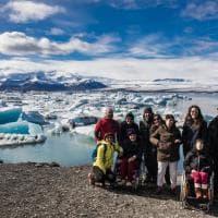 I 40 anni della coop Molinetto. Il viaggio con i ragazzi disabili arriva in Islanda - Foto