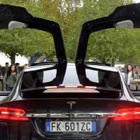 La supercar di Tesla all'università di Parma - Foto
