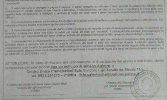 Parma, il Comune nega la sala civica al neofascista Fiore