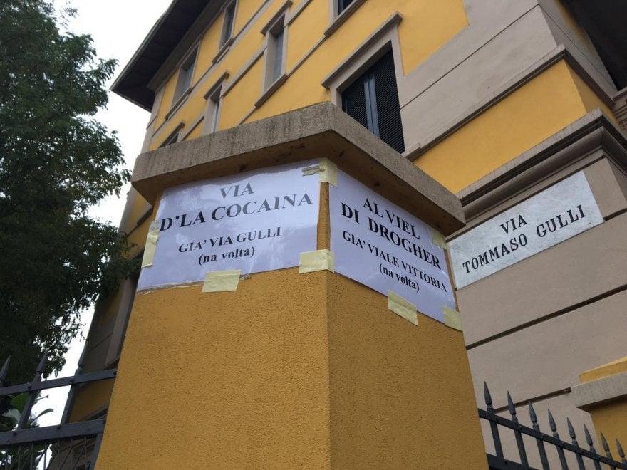 """""""Via primo spaccio"""": a Parma le strade cambiano nome - Foto"""