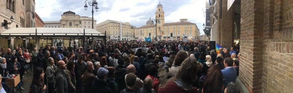 Parma, manifestazione contro il decreto Salvini - Foto